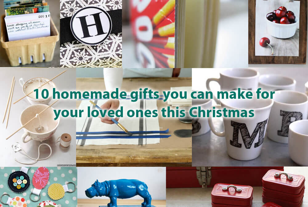 10 homemade gifts you can make for your loved ones this Christmas