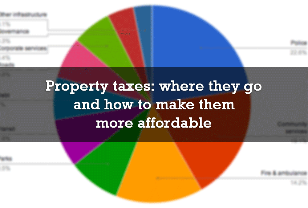 Property taxes: where they go and how to make them more affordable