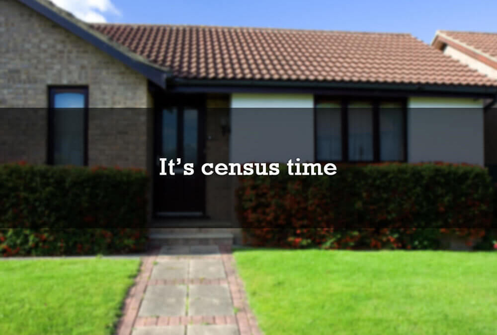 It's census time