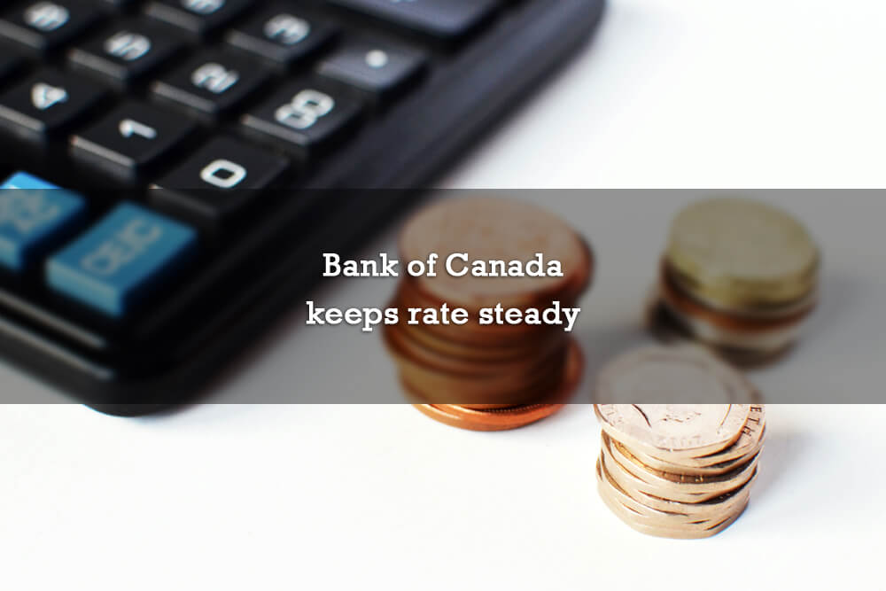 Bank of Canada keeps rate steady