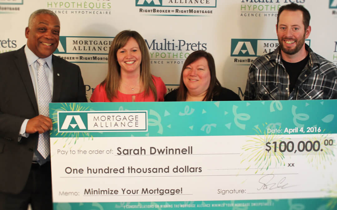 Minimize your mortgage, and you could win up to $100,000